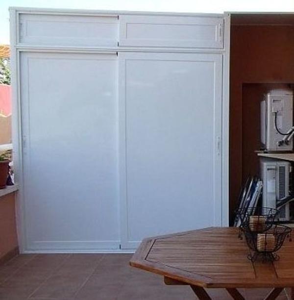 Armarios metalmasa - Puerta corredera exterior ...
