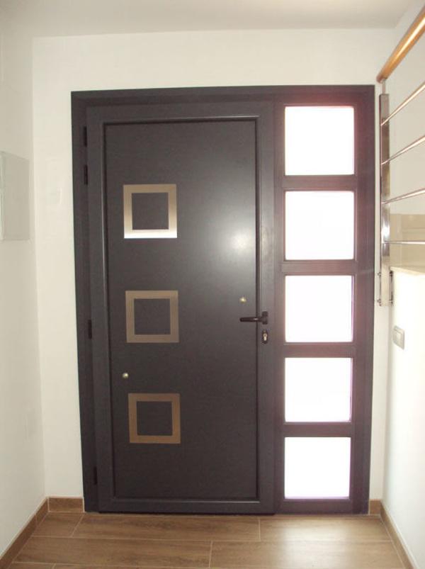 Puertas metalmasa for Puertas interiores de aluminio y cristal
