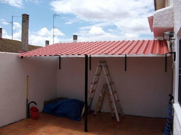 Techos metalmasa for Modelos de techos con tejas